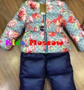 Куртка и комбинезон зимний Gucci