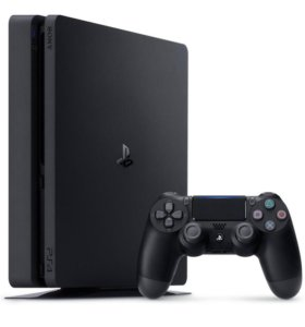 PS4 slim 1 тб. новая