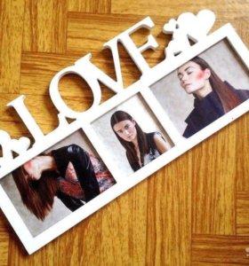 "Рамочка ""Love"""