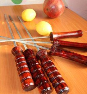 Ручки резные деревянные