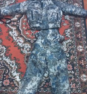 Зимний камуфляж костюм