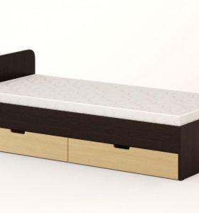 Кровать новая  с ящиками