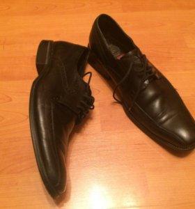 Ботинки фабричные кожа