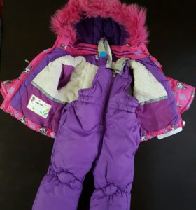 Куртка с комбинезоном. Зима