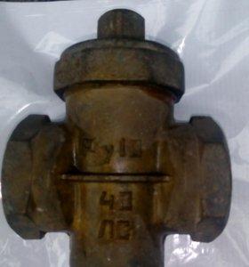 Кран пробковой проходной сальниковый  Ру 10 45ДС