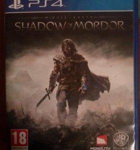 Продам Тени Мордора для PS4