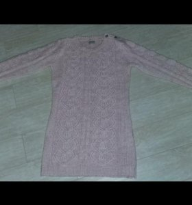 Вязанное платье/кофта для беременных