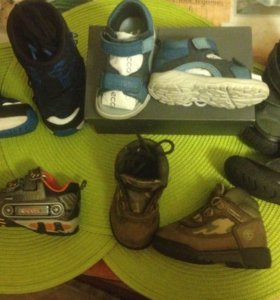Adidas ecco geox timberland
