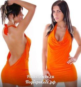 ЛИКВИДАЦИЯ Платье с открытой спиной