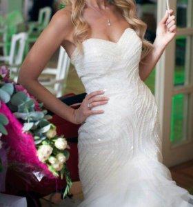 Свадебное платье Pronovias+фата в ПОДАРОК
