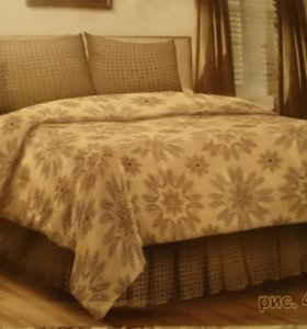 КПБ,поплин, 2 Х спальный с европростынью