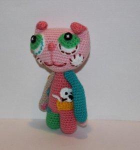 Игрушка подарок кот