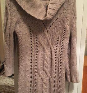Платье -свитер