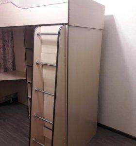 3 в 1 шкаф, стол, кровать