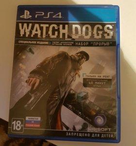 Игра ps4 watch dogs
