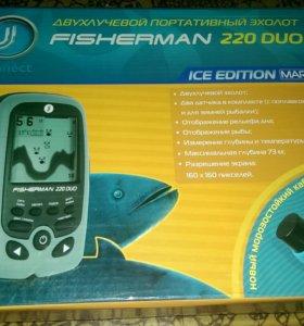 Эхолот JJ-Connect Fisherman 220 duo ice mark ii