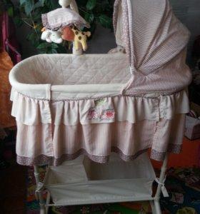 Колыбель для новорожденного Simplicity 4 в 1