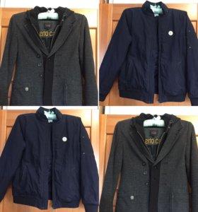 Куртка и пиджак-ветровка на 150-156си