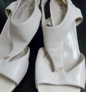 Туфли нат.кожа 39 р-р
