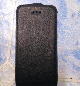Чехол на айфон 4 кожа.