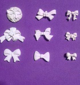 #14Г - Набор бантиков из полимерной глины.