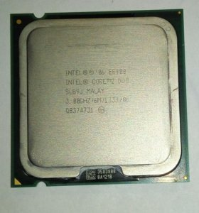 Процессор Intel Core 2 Duo E8400 Wolfdale 3000MHz
