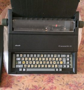 Пишущая (печатная) машинка Olivetti