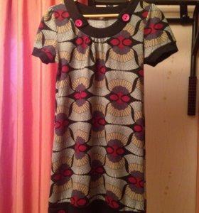 Туника кофта женская платье женское