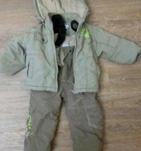 демисезонный костюм куртка и штаны
