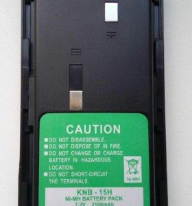 Батареи KNB-15H 2100 мАч для рации. Новые