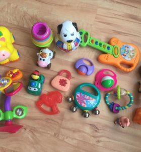 Игрушки для самых маленьких, погремушки