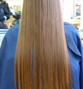 Полировка волос на Галле