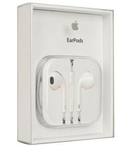 Оригинальные наушники Apple EarPods (3,5mm)