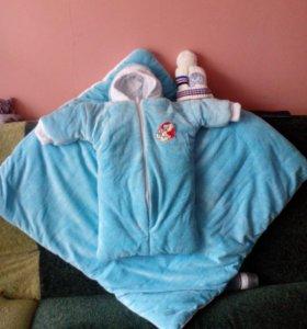 Комбинезон мешок с одеялом