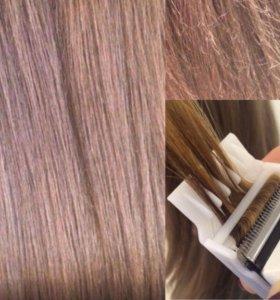 Полировка волос 💐 (стрижка секущихся кончиков)