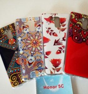 Силиконовые чехлы на Huawei Honor 5C