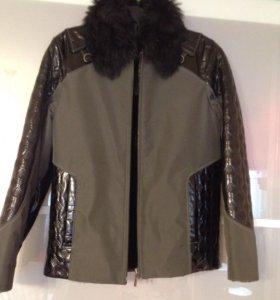 Куртка-дубленка детская