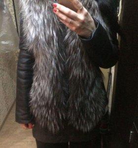 Куртка + жилетка .2 в одном!