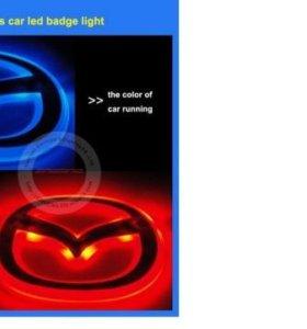 Логотип led mazda