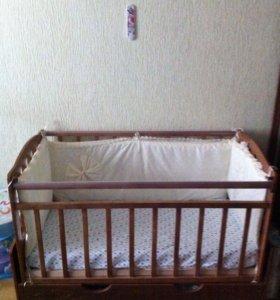 """Музыкальная """"укачай-ка """" ‼️детская кровать"""