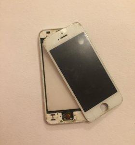 Айфон 5 белый,16 гб