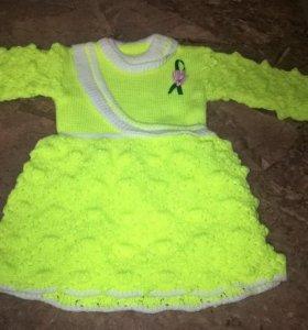Платье новое 80 -96