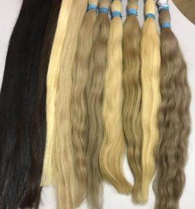 Южнорусские, славянские волосы