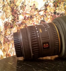 Объектив sigma aspherical 17-35 canon