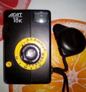 """Фотоаппарат """"Агат 18К""""."""