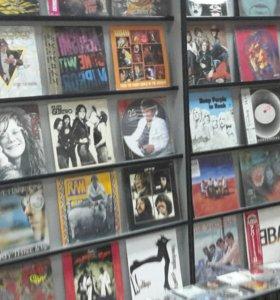 Виниловые пластинки, CD