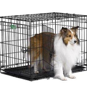 Клетка вольер для собак Midwest iCrate 76х48х53 см