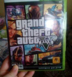 Игра GTA5  на X-Box 360 лицензионная цена 1400