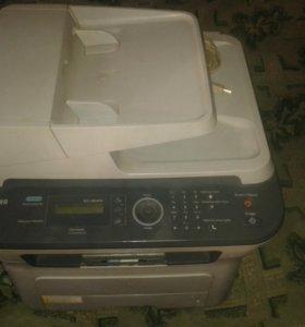 Принтер+сканер+факс тоннер заправлен.