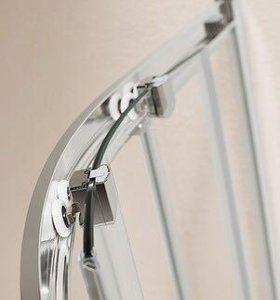 Душевой уголок Cezares Eco R-2-90-C-Cr стекло проз